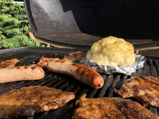 bloemkool barbecue