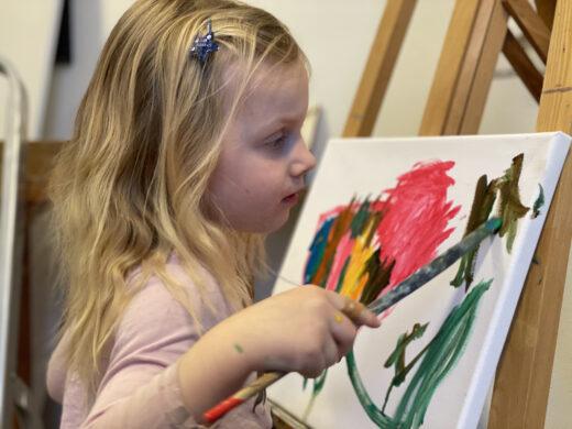 Janna schilderen